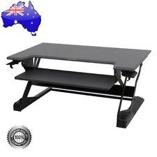 Ergotron WorkFit-TL Sit-Stand Standing Desk Desktop Workstation - Black