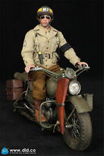 DID 1/6 The second world war U.S. The 2nd armored division Military police BRYAN