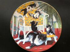 """""""Just For The Fern of It� Country Kittens Plate Collection Porcelain Coa"""