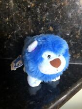"Neopets Blue Noil Lion Soft Plushy Cutie 6"" High"