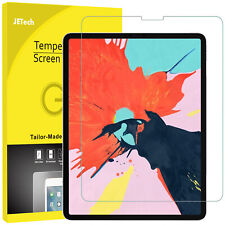 """JETech Screen Protector for iPad Pro 12.9"""" (3rd Generation, 2018) Tempered Glass"""