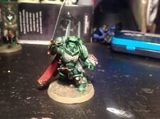 Warhammer 40,000 Dark Angels Primaris capitán en gravis Armour Pro Pintado