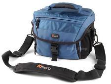 Étuis, sacs et housses bleue pour appareil photo et caméscope Universel
