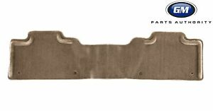 07-13 GMC Sierra Denali Rear Carpet Floor Mat 19157415 Cashmere Genuine OEM GM