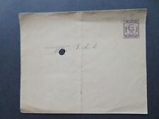 Montenegro 1893 7H Blue Postal Stationery Canceled / Light Curling - Z7806