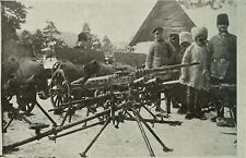 Russian Army Artillery 1915 Machine Gun World War 1 7x5 Inch Reprint Photo
