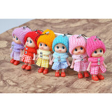 5×Children Toys Soft Interactive Baby Dolls Toy Tiny Doll For Girls and Boys