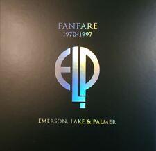 ELP fanfare 1970-1997 Box Emerson Lake & Palmer Boxset numéro 356/3000