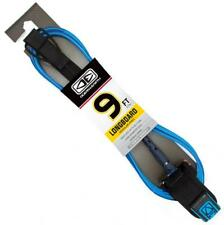 Regular 9' Longboard Knee Leash - Surfboard In Blue From Ocean & Earth