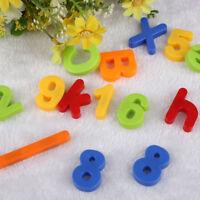 Kids Magnetic Alphabet Letter Maths Number Fridge Magnets Learning Toys 80Pcs