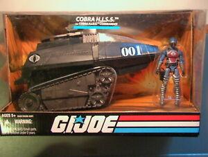 GI Joe 2008 Cobra HISS Mk.I w/Commander C-7 MISB Hasbro A Real American Hero!!!!