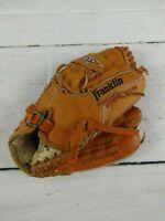 "Vintage FRANKLIN RTP Leather Pro-Tanned 4640-11"" RHT Baseball Mitt Youth"