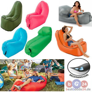 Airlounge Luftkissen Sitzliege Sitzsack für Camping Strand aufblasbar Luft Sofa