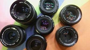 Pentax Manual Focus Lens K mount for Pentax camera