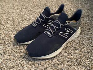 New Balance Men's Fresh Foam Roav V1 Running Navy Blue Gray White Gum Size 15.0