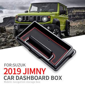 for Suzuki Jimny 2019 2020 Car Dashboard Storage Box Accessories Anti-Slip Mat