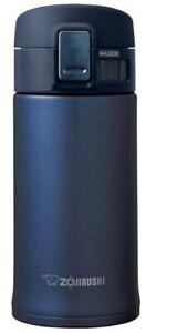 Zojirushi Sm-Khe36Ag Stainless Steel Mug, 12 OZ, Smoky Blue