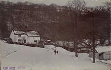 Marple. Lum House Winter by Kennerley, Marple Bridge. Snow Scene.