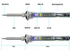 AC 220V OFF 200°C-480 °C 70W Digital LCD Thermostat Soldering Iron PEN + EU plug