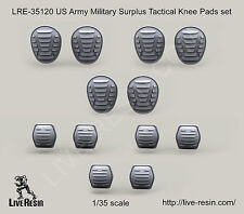Live Resin 1:35 US Army Military Surplus Tactical Knee&Elbow Pads Set LRE35120*