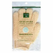 Earth Therapeutics Hydro Exfoliating Gloves, Natural, 1 pair