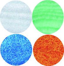 Filterwatte je 250 gr. weiß grün blau orange Süß u. Seewasser, sowie Gartenteich