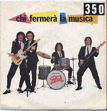 "POOH - Chi fermera' la musica - VINYL 7"" 45 LP 1981 VG+/VG- CONDITION"