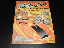 TURBO FIRE AN AUTO-COMBAT ADVENTURE MODULE 1984