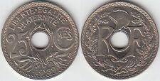 Gertbrolen 25 Centimes maillechort 1939  Superbe brillant de frappe Poids 3,88