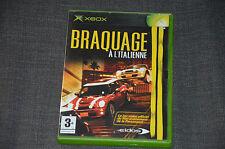 JEU XBOX - Braquage à l'italienne (style voitures courses) - en VF