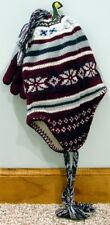 Children's Hat and Glove Set Burgundy 4 - 6 X