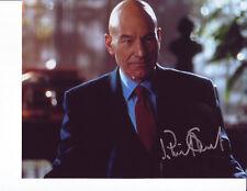 Sir Patrick Stewart signed 8x10 photo w/coa Star Trek the next generation x-men