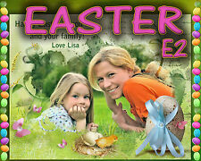 E2 Easter Digital Photo Backgrouns backdrops Greeting Cards Mask Holiday Props