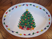 "Christmas Platter Large Tray ""My Christmas"" Dishes ~ I Have Other Pieces! New!"
