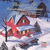 The Time-Life Treasury of Christmas: Christmas Spirit by Various Artists (CD, Oc