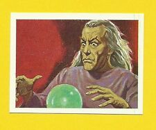 Magician Wizard with Crystal Ball  Horror Terror Movie Monster Spanish Card