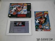 AERO THE ACRO-BAT 2 (Super Nintendo) Very Rare COMPLETE IN BOX!!! SNES Acrobat