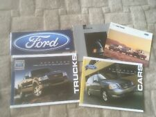 FORD CAR TRUCKS RANGE.  BROCHURES X 5   USA MARKET