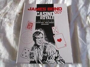 JAMES BOND 007 GRAPHIC NOVEL COMIC BOOK CASINO ROYAL 2005