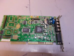 Analog devices ad1846jp opti 82c929a ISA VINTAGE sound card