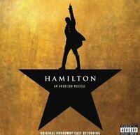 CRACKED CASE ! Hamilton An American Musical Original Broadway Cast Recording [CD