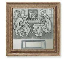 Rahmen Holz Auszeichnung  Der Friseur - mit Wunsch-Gravur