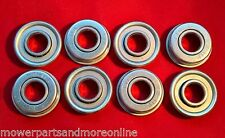 8 x Lawn Mower Wheel Bearings -  MASPORT, ROVER A03353, HONDA 91055-VB4-003