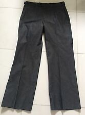 JUNK DE LUXE GRAY VERY CLASSY SLACKS PANTS Sz 34 X 32 EXCELLENT