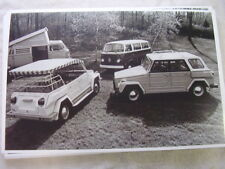 1974  VOLKSWAGEN  THING  AN  BUS ,CAMPER   11 X 17  PHOTO  PICTURE