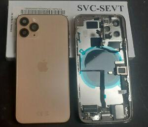 Akkudeckel für Original iPhone 11 Pro Gehäuse Rückdeckel Rahmen Vormontierte