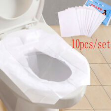Universal Toilet Disposable Sticker Toilet Seat Cover Business Travel Stool Set