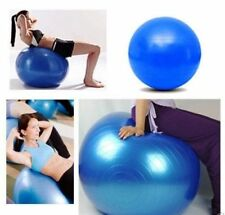 Fitness Gym Ball Exercise Yoga Workout With Pump - Pink