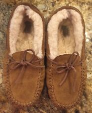 UGG Slippers Youth Kids Dakota Moccasin (Big Kid) Slippers Chestnut Size 3