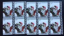 Dan Wheldon Premium Gold Seal Rookie card Lot of 10 cards